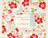 "last one, Vintage Modern layer cake by Bonnie and Camille for Moda Fabrics, layer cake 42 -10"" squares"