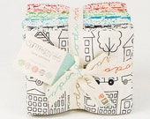 LAST ONE.. October Sale, 10% off  Summersville Fat Quarter Bundle by Lucie Summers  for Moda Fabrics, 27 fat quarters