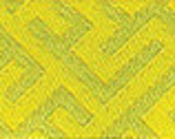 Grand Bazaar ribbon from Patty Young,  Corridors citron - 1 yard