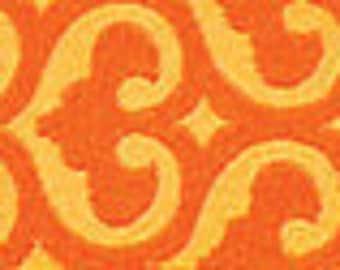 Grand Bazaar ribbon from Patty Young,  Spade Mandarin - 1 yard