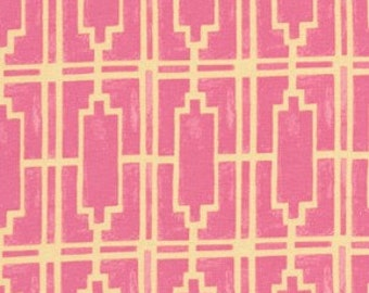 Tina Givens Haven's Edge, Walls Pink VOILE 1 yd total