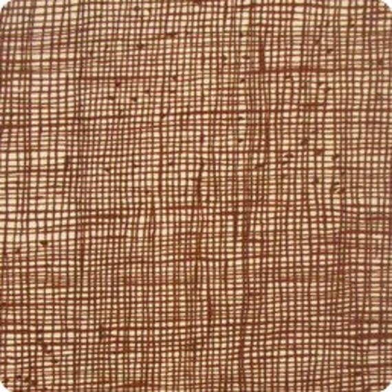 End of the bolt, Alexander Henry's Heath-Crosshatch in Chocolate 22 inches remain