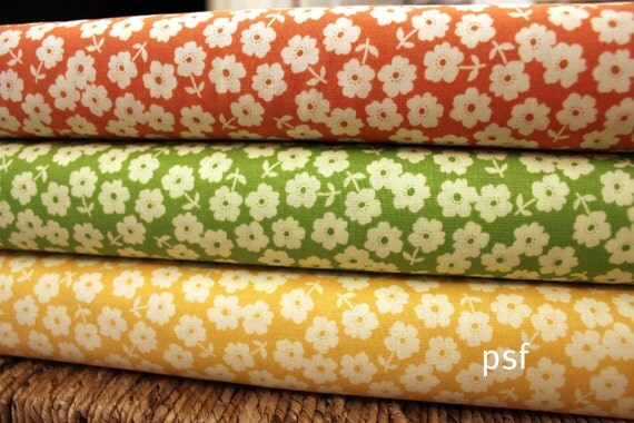 NEW Fly a Kite by October Afternoon and Riley Blake, Floral half Yard bundle, 2 total