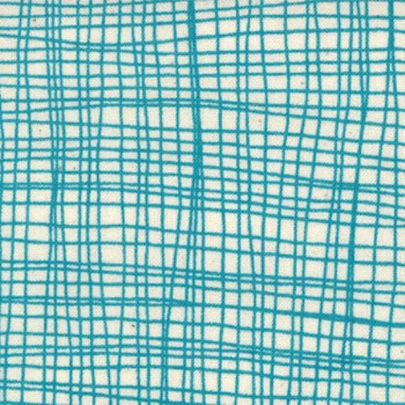Last Yard, Summersville from Lucie Summers for Moda, Weave in seafoam 1 yard