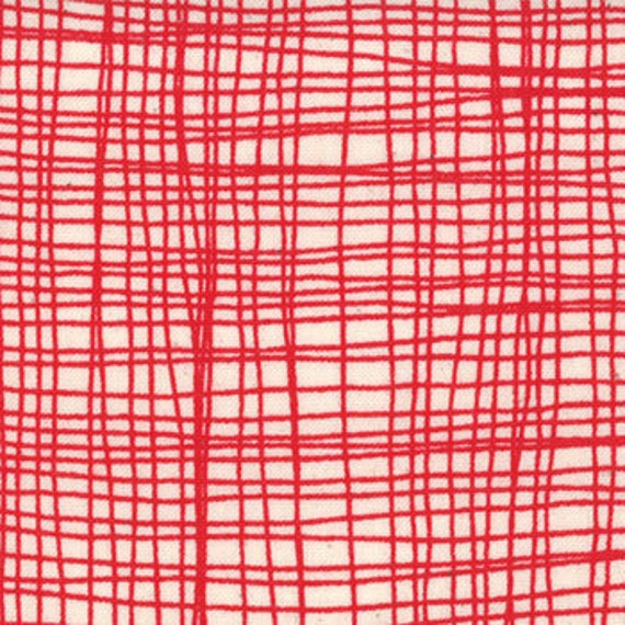 Summersville from Lucie Summers for Moda, Weave in London Bus 1 yard, more yardage in stock