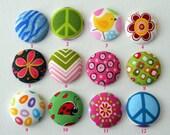 ID Badge Reels (Retractable), handmade by JEJEWELED