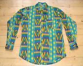 DORIS & DORIS African print Shirt L