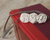 OOAK Spring Fling-Cecilia Street Designs Three Mini Twisted Rosette Headband