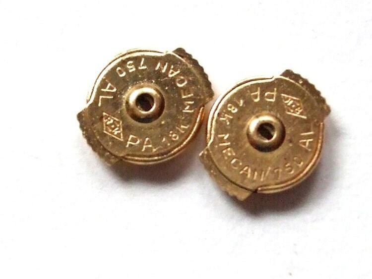 sale 18k high security earring backs no more lost earrings