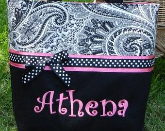 Personalized monogram girl diaper bab/personalized monogram baby shower gift