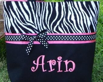 Diaper bag//handmade diaper bag//personalized diaper bag//girl diaper bag//girl baby gift//baby shower gift
