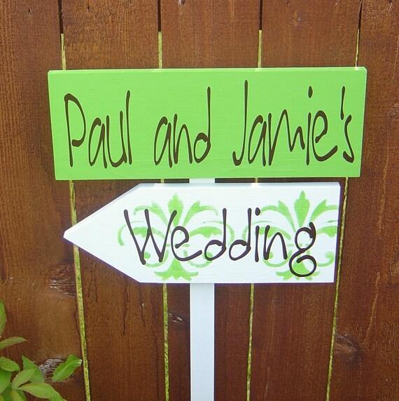 Etsy Wedding Signs: Items Similar To Wood Wedding Signs. Handmade, Custom
