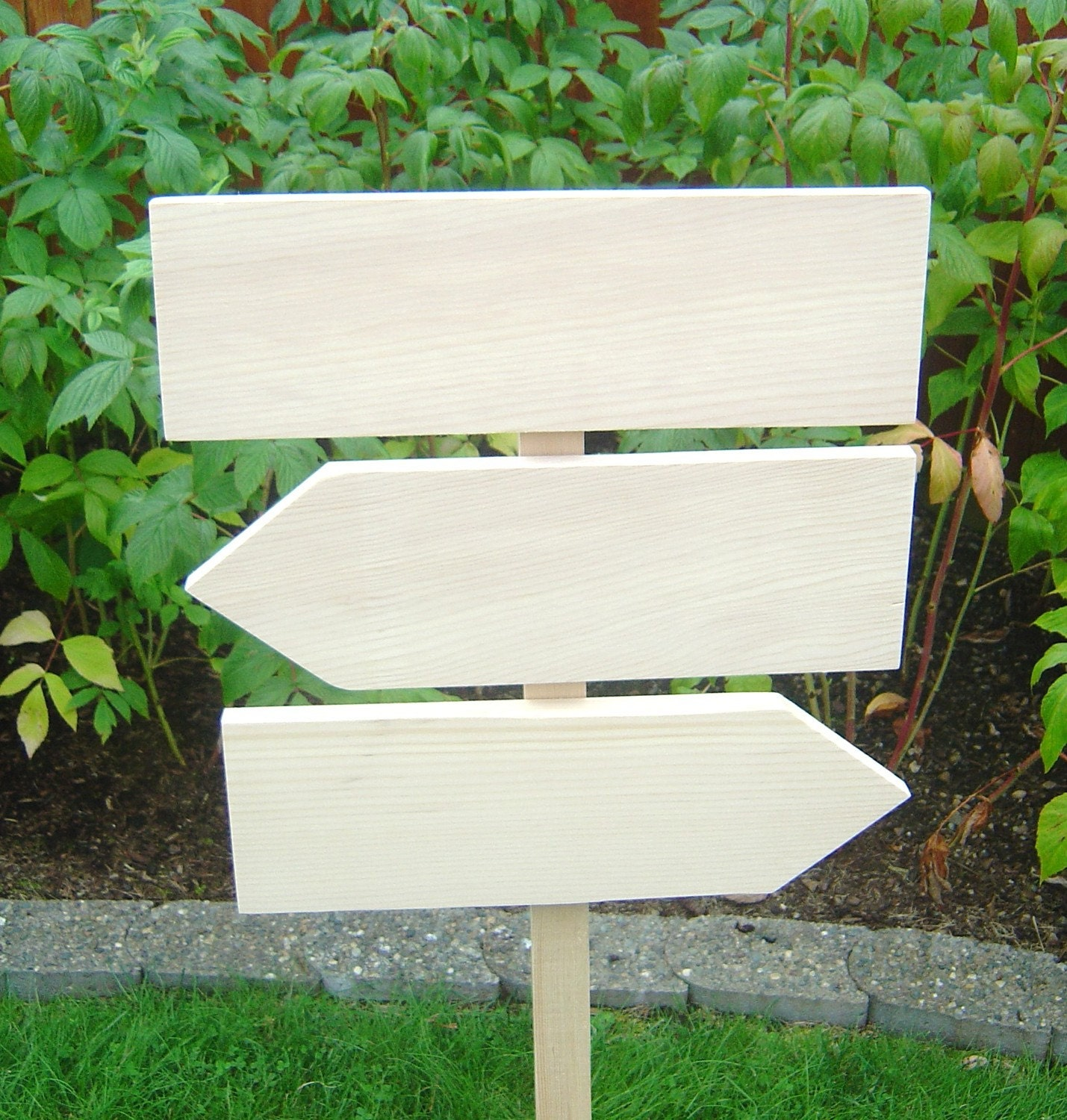 DIY Wedding Sign Kit Unpainted Rustic Raw By