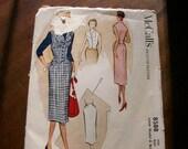 Lovely Pencil Skirt & Vest McCalls Pattern