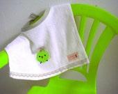 Easter Chic Towel Baby Bib
