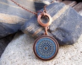 Metal Pendant - Palermo Petite With Infinity Chain - Hardwear Chicago Jewelry
