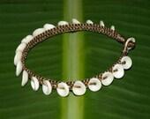 Puka Shell Anklet (Medium) - from Kauai, Hawaii