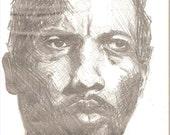 Coleman Hawkins Pencil Sketch