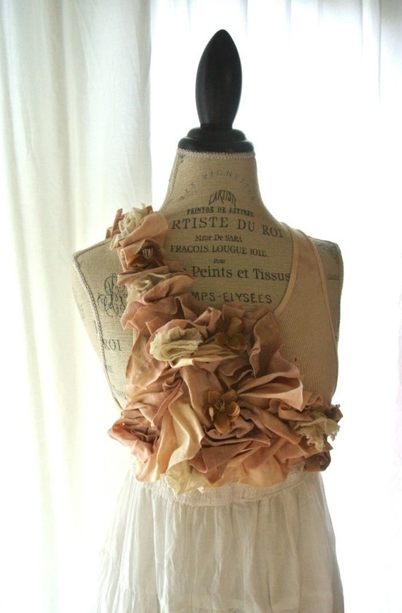 For Tara custom beige brown skirt Gypsy cowgirl maxi dress, romantic, boho,farm girl