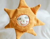 Smiling Sun Baby Rattle