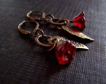 Victorian Earrings Vintage Earrings Estate Style  Romantic Vintage Inspired Jewelry - Pick your Color