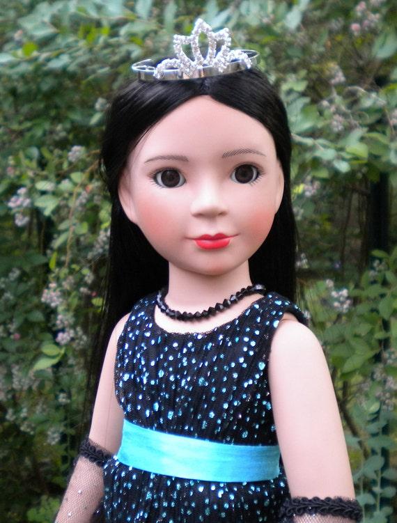 "Reserve listing for Elegant Dress for 18"" slim dolls"