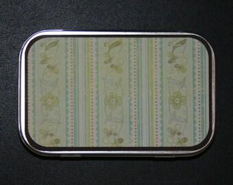 REMEMBER GRANDMAS WALLPAPER Altered Tin and Refrigerator Scrapbook