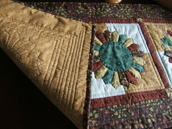 Autumn Table Runner or Wall Hanging