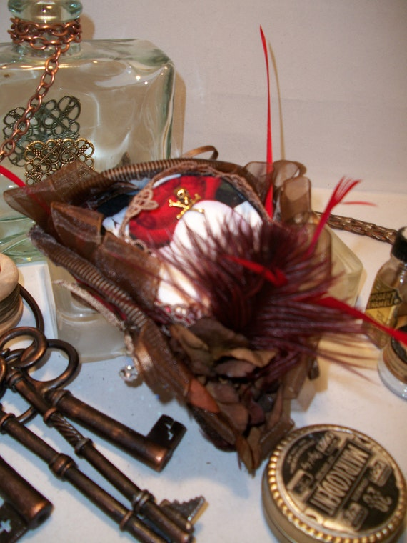 A Pirate's Life For Me - Tricorn Hair Comb - Fascinator