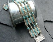 Read between the Lines (beaded bracelet)/ PDF