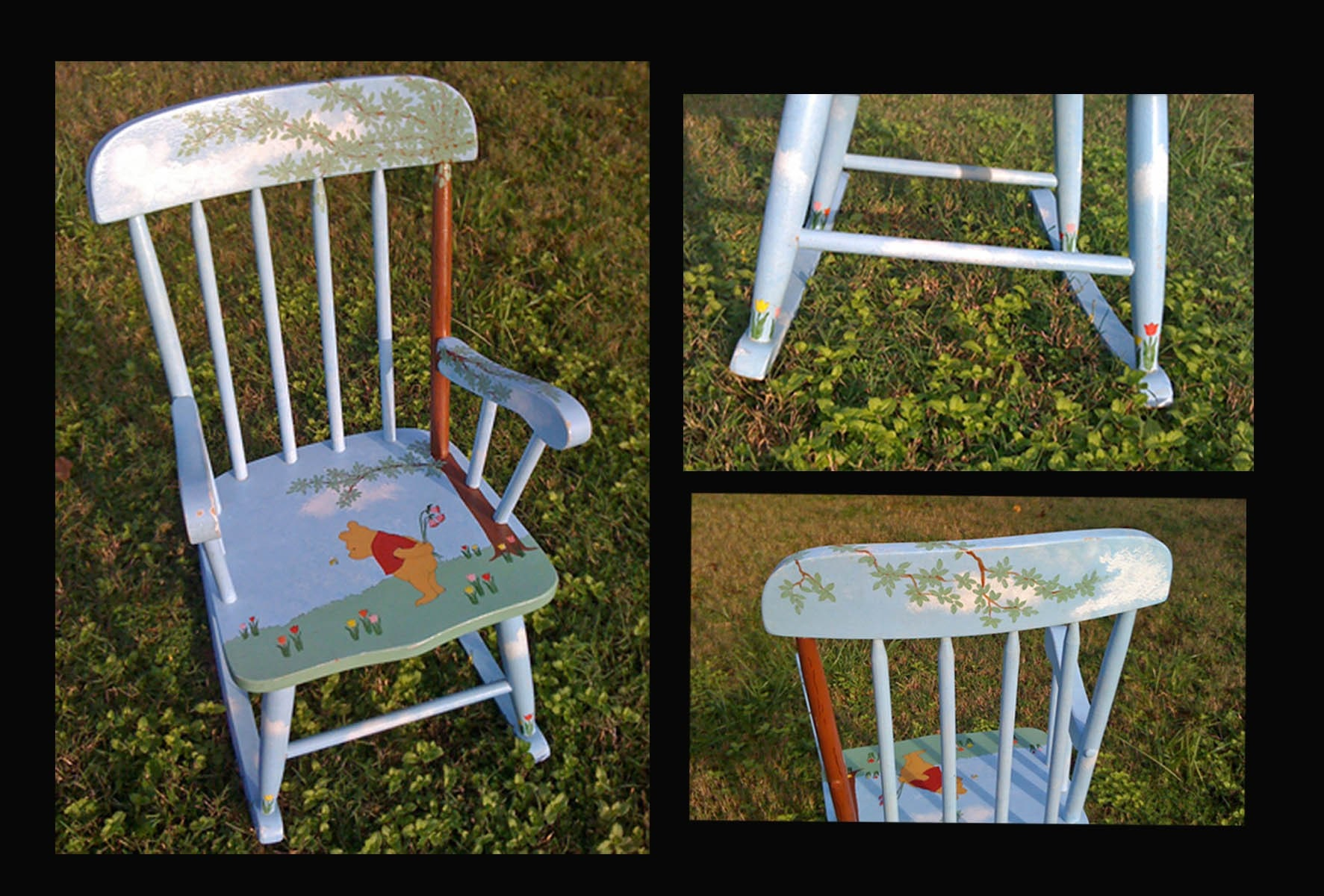 Child s hand painted rocking chair - Child S Winnie The Pooh Rocking Chair