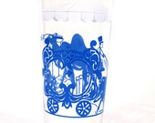 Vintage Circus Glass