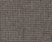 3308 - Felted 100 Percent Woven Wool - Houndstooth - Grey and Taupe - Large Size