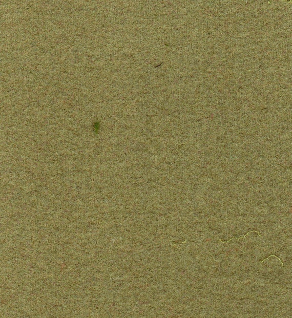 2558  - Felted 100 Percent Woven Wool -  Sage Green
