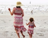 Ruby of the Sea Beach dress for the Mommy
