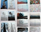 Seattle Post Cards - set of 10
