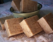 Pear Goat Milk Soap Bar Scented Oatmeal