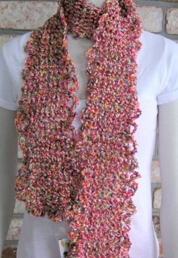 IT'S A RAINBOW (Imported multi colored silk feeling Scarf)