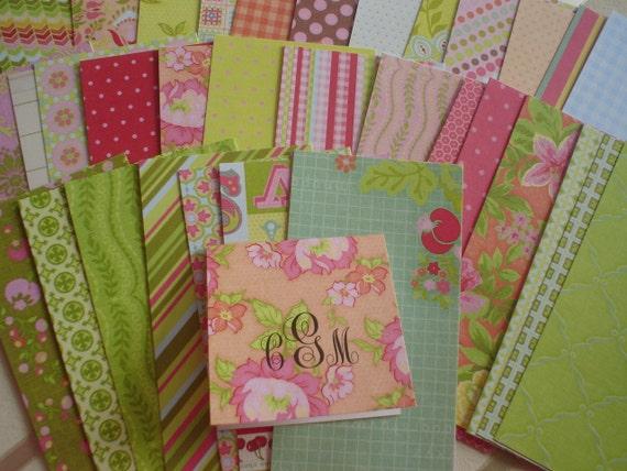 Sweet Nectar Mini Cards  Gift Enclosures Set of Ten