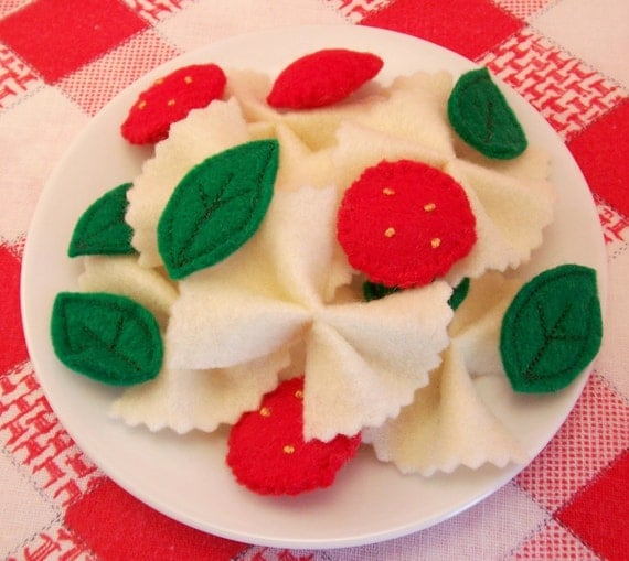 Felt Food Toys R Us : Items similar to felt food pasta salad eco friendly