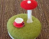 Little Mushroom Fairy Garden - One Mushroom