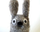 Stanley the Floontsy finger puppet - Made in Natural Wool
