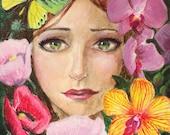 Summer Four Seasons Series 6 x 6 Art Print