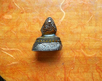 Antique Tibetan Buddhist Monk's Stamp