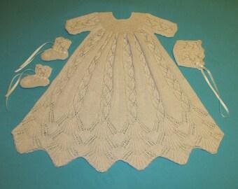 Dayflower Christening Gown PDF Pattern