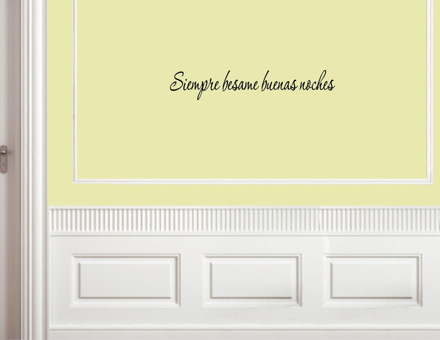 Kissing Quotes in Spanish Spanish Vinyl Wall Quotes