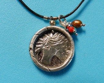 Fine Silver Little Horse Pendant