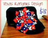 Texas Rangers Design Cadet Hat