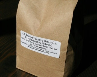 All Natural Laundry Soap - CHOOSE YOUR SCENT - Vegan