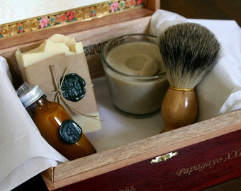 Six DELUXE - Eco Friendly Shaving Kits for Groomsmen